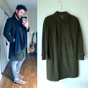 Other - • HUNTER GREEN Long Coat •